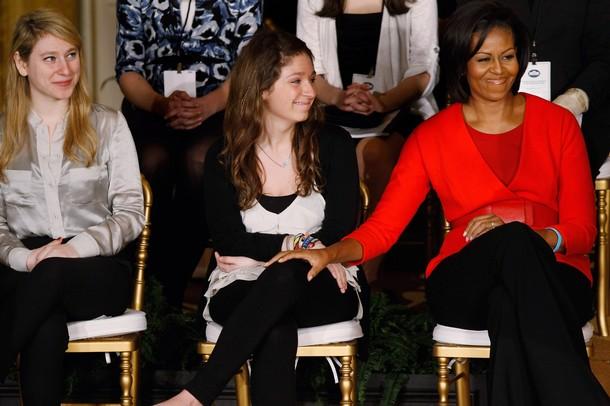 President And Mrs Obama Speak At White House Conf. On Bullying Prevention